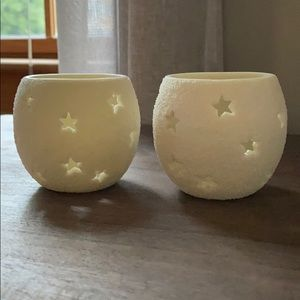 Department 56 tea candle holders